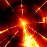 la lumière rouge élégante strie la texture Photographie stock libre de droits