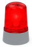La lumière rouge Image stock