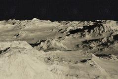 La luna Fotografia Stock Libera da Diritti