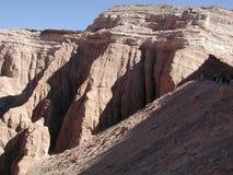 La Luna, Atacama, Cile di Valle de Fotografia Stock