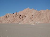 La Luna, Atacama, Cile di Valle de fotografie stock