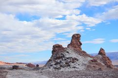 La Luna (Chili) de la vallée De Images libres de droits