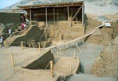 ?La Luna de Huaca de?, templo de la luna Fotos de archivo libres de regalías