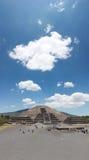 La Luna de Pirmide De dans Teotihuacan Photographie stock