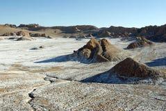 La Luna de Valle de, o Chile Fotos de Stock