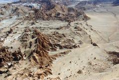 La Luna de Valle de, o Chile fotografia de stock