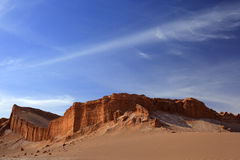 La Luna de Valle de, San Pedro De Atacama, o Chile Foto de Stock