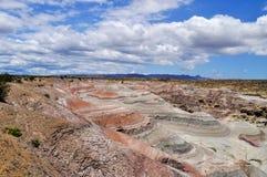 La Luna de Valle De Stationnement provincial d'Ischigualasto l'argentine images libres de droits