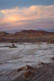 La Luna de Valle de (vale da lua) - o Chile fotos de stock