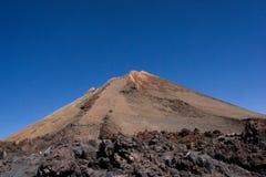La luna del teide de las islas Canarias de Tenerife estropea Imagen de archivo libre de regalías