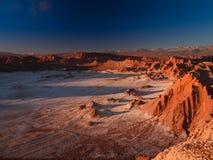 La Luna di Valle de della valle della luna fotografie stock libere da diritti
