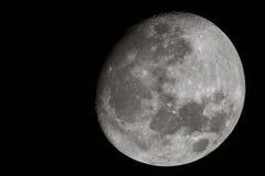 La luna… en una noche nublada Fotografía de archivo