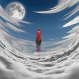 A la luna libre illustration