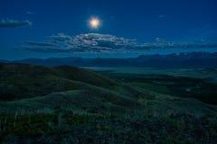 La luna piena Fotografie Stock