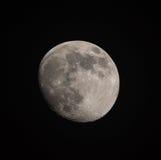 La luna… in una notte nuvolosa Fotografie Stock