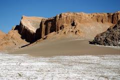 la luna valle Чили de Стоковые Изображения