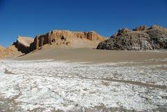 la luna valle Чили de Стоковая Фотография RF