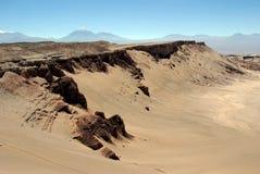 la luna valle Чили de Стоковые Изображения RF