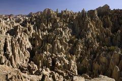 La Luna (valle) de la luna - La Paz de del valle - Bolivia imágenes de archivo libres de regalías