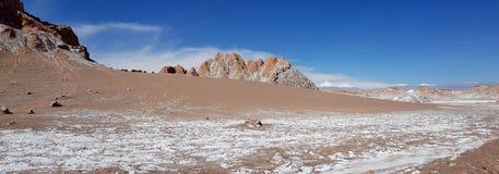 La Luna Valley de la luna en el desierto de Atacama, Chile de Valle de imagen de archivo libre de regalías