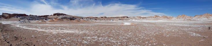 La Luna Valley della luna nel deserto di Atacama, Cile di Valle de immagine stock libera da diritti