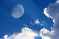La lune Photographie stock libre de droits