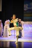 La lune de ballet de rotation-Hui de prince au-dessus de Helan Images libres de droits