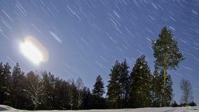 La lune descend ligne Timelapse clips vidéos