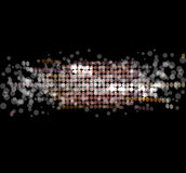 La luz abstracta del disco protagoniza el fondo Stock de ilustración