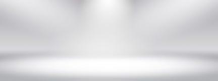 La luz blanca simple de las pendientes de la pantalla ancha del panorama empañó el fondo, fácil hacer belleza espacios bonitos de ilustración del vector