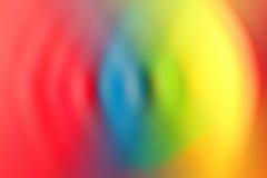 La luz borrosa arrastra el fondo colorido Fotografía de archivo libre de regalías