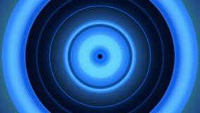La luz circunda el azul stock de ilustración