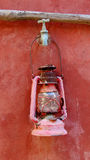 La luz de la vela Foto de archivo libre de regalías