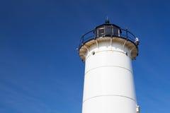 La luz del punto de Nobska es un faro situado en Cape Cod, los E.E.U.U. Foto de archivo libre de regalías