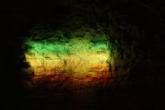 La luz del reggae Foto de archivo libre de regalías