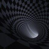 La luz dentro del túnel Imagenes de archivo