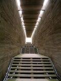 La luz en el extremo del túnel Imagen de archivo
