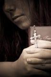 La luz en el perdón Fotos de archivo libres de regalías