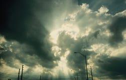 La luz no puede ser ocultada Fotografía de archivo
