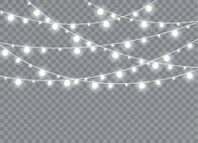 La luz que brilla intensamente estalla en un fondo transparente fotografía de archivo libre de regalías