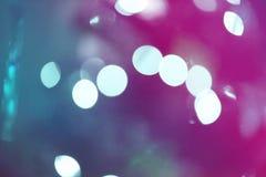 La luz se escapa el color ultravioleta Fotografía de archivo