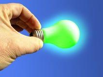 La luz verde fotografía de archivo libre de regalías