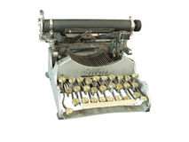 La máquina de escribir del vintage Imagenes de archivo