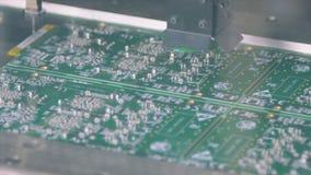 La máquina superficial de Smt de la tecnología del soporte coloca los resistores, los condensadores, los transistores, el LED y l almacen de metraje de vídeo
