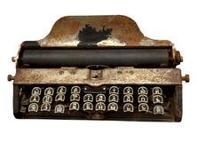 La máquina vieja que escribe Foto de archivo
