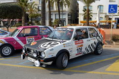 La más vieja reunión de España, 2015, 63 reúne a Costa Brava Campeón 2015 de la reunión que se divierte Lloret de Mar - Girona Fotografía de archivo