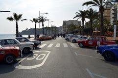 La más vieja reunión de España, 2015, 63 reúne a Costa Brava Campeón 2015 de la reunión que se divierte Lloret de Mar - Girona Foto de archivo libre de regalías