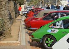 La más vieja reunión de España, 2015, 63 reúne a Costa Brava Campeón 2015 de la reunión que se divierte Lloret de Mar - Girona Imagenes de archivo