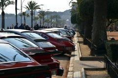 La más vieja reunión de España, 2015, 63 reúne a Costa Brava Campeón 2015 de la reunión que se divierte Lloret de Mar - Girona Imagen de archivo