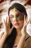 La máscara del carnaval Imagen de archivo libre de regalías